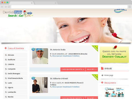 www.dentistipediatrici.it