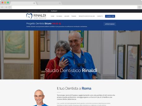 www.dentistarinaldiroma.it