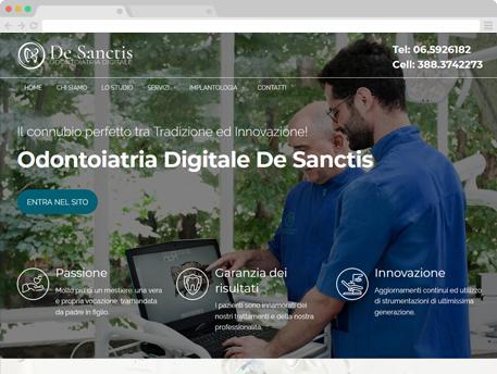 www.odontoiatriadigitaledesanctis.it