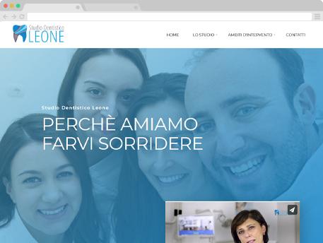 www.studiodentisticoleone.it