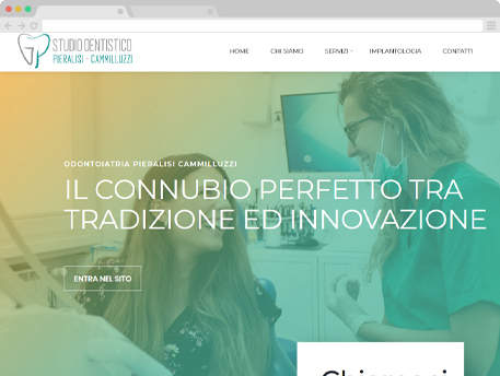 Sito web con Dentisti Italia